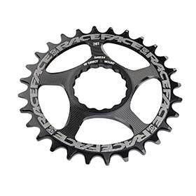 Race Face Cinch Direct Mount 30t Chainring 9-12sp Bcd: Direct Mount 7075-T6 Aluminum Black-Chainrings-Race Face-Voltaire Cycles of Verona