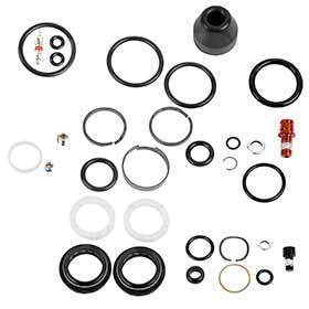 Rockshox 114018018001 Service Kit Solo Air And Damper Seals Hardware & Black Seals Sid/Reba Solo Air A2-A3 2013+-Forks-RockShox-Voltaire Cycles of Verona