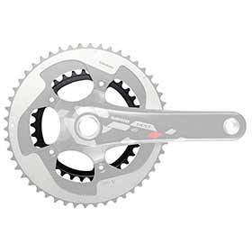 Sram 34d 11sp Bcd: 110mm 5 Bolts Red X-Glide Inner Chainring For 34/50 Aluminum Black 116218010008-Chainrings-SRAM-Voltaire Cycles of Verona