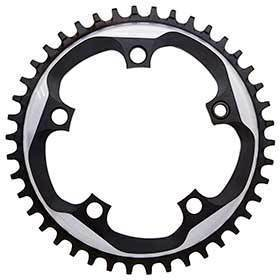 Sram 42t 11sp Bcd: 110mm 5 Bolts X-Sync Outer Chainring For X-Sync Aluminum Grey 116218015002-Chainrings-SRAM-Voltaire Cycles of Verona