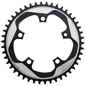 Sram 46t 11sp Bcd: 110mm 5 Bolts X-Sync Outer Chainring For X-Sync Aluminum Grey 116218015004-Chainrings-SRAM-Voltaire Cycles of Verona