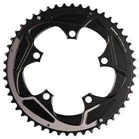 Sram 50t 11sp Bcd: 110mm 5 Bolts Road X-Glide Outer Chainring For 34/50 Aluminum Silver 116218016001-Chainrings-SRAM-Voltaire Cycles of Verona