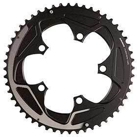 Sram 52t 11sp Bcd: 110mm 5 Bolts Road X-Glide Outer Chainring For 36/52 Aluminum Silver 116218016000-Chainrings-SRAM-Voltaire Cycles of Verona