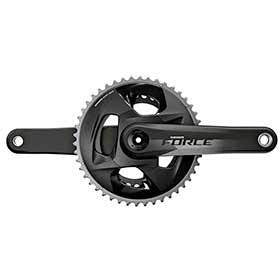 Sram Force Axs Crankset Speed: 12 Spindle: 2899mm Bcd: 107 46/33 Dub 175mm Black Road-Cranksets-SRAM-Voltaire Cycles of Verona