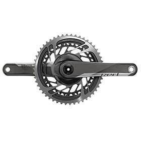 Sram Red Axs Crankset Speed: 12 Spindle: 24/22mm Bcd: Direct Mount 48/35 Gxp 170mm Black Road-Cranksets-SRAM-Voltaire Cycles of Verona