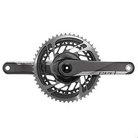 Sram Red Axs Crankset Speed: 12 Spindle: 2899mm Bcd: Direct Mount 48/35 Dub 165mm Black Road-Cranksets-SRAM-Voltaire Cycles of Verona