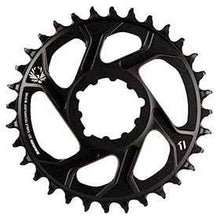 Sram X-Sync 2 6mm Offset 32t 12sp Bcd: Direct Mount Single Chainring Aluminum Black-Chainrings-SRAM-Voltaire Cycles of Verona