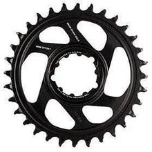 Sram X-Sync 2 6mm Offset 34t 12sp Bcd: Direct Mount Single Chainring Aluminum Black-Chainrings-SRAM-Voltaire Cycles of Verona
