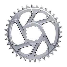 Sram X-Sync 2 X01 Eagle Polar Grey Chainring Teeth: 34 Speed: 12 Bcd: Direct Mount Single Alloy Grey-Chainrings-SRAM-Voltaire Cycles of Verona