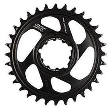 Sram X-Sync 3mm Offset 34t 12sp Bcd: Direct Mount Single Chainring Aluminum Black-Chainrings-SRAM-Voltaire Cycles of Verona