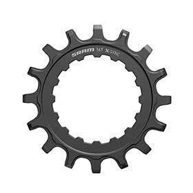 Sram X-Sync Chainring For Bosch Motors 16t-Chainrings-SRAM-Voltaire Cycles of Verona