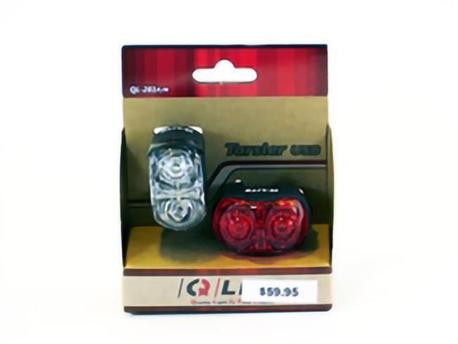 Tarsier Head and Tail Light Combo for Bicycle or Recumbent-Bicycle Lights-Q-Lite-Voltaire Cycles of Verona