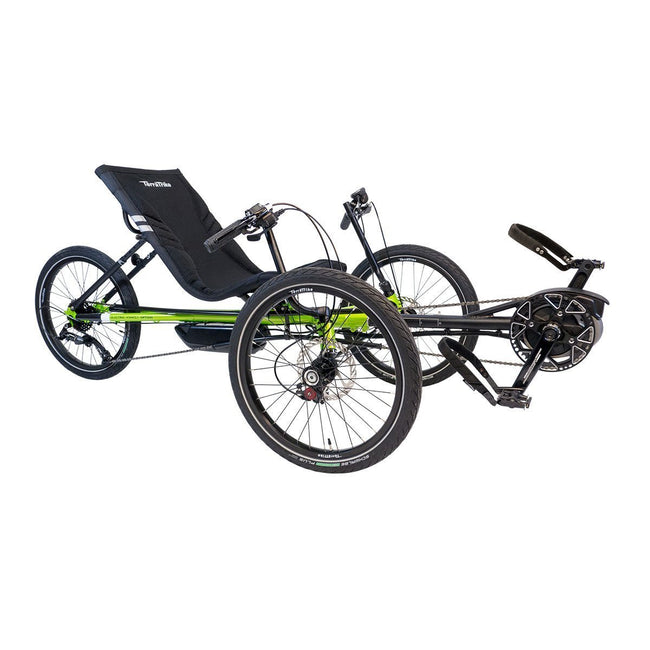 TerraTrike Rambler E.V.O. with Bosch Mid-Drive Power Assist System-Recumbent Trikes-TerraTrike-Voltaire Cycles of Verona