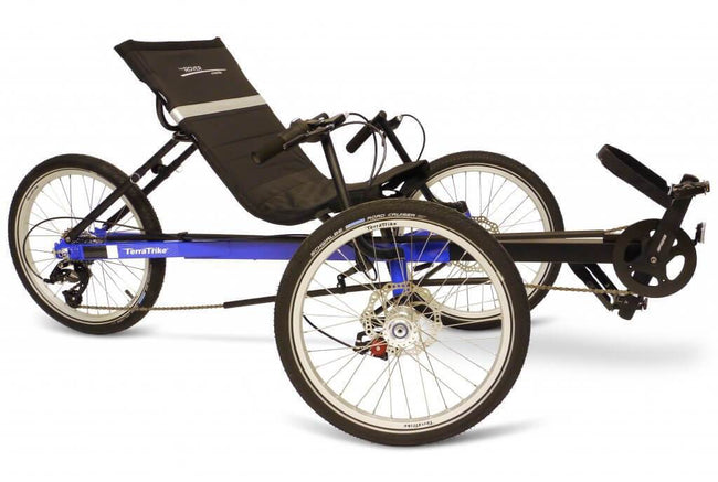 TerraTrike Rover-Recumbent Trikes-TerraTrike-Voltaire Cycles of Verona