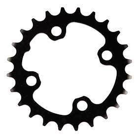 Truvativ 24t 9 Sp Bcd 64mm 4-Bolt Inner Chainring For Mtb Triple Aluminum Black 116215093000-Chainrings-Truvativ-Voltaire Cycles of Verona