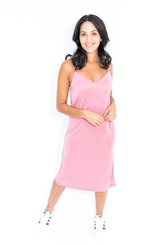 Cami Slip Midi Dress