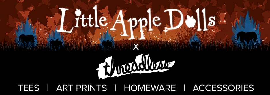 Little Apple Dolls Threadless Artist Shop tees prints homeware