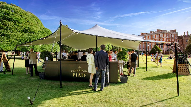 Champagne PIAFF at Hampton Court Palace