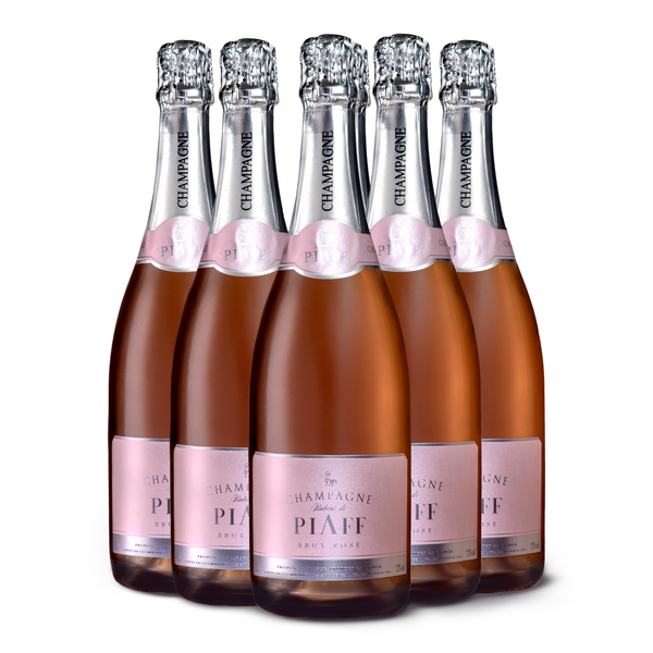 PIAFF Rosé Brut NV 6 x 750 ml. (Pass the PIAFF)