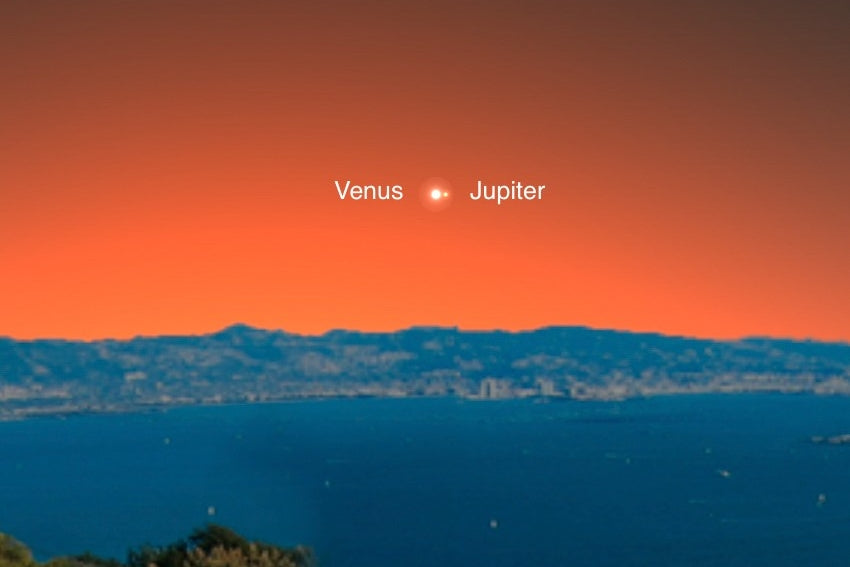 Jupiter and Venus Join Nov. 13th