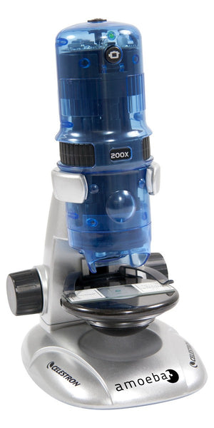 Amoeba Dual Purpose Digital Microscope (Blue)