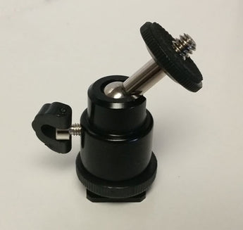 Ball head mount for LCD Monitor