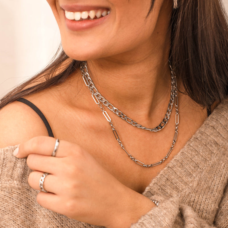 Janita Necklace Silber