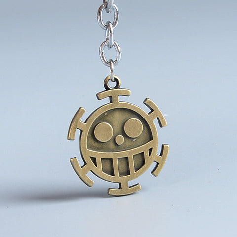 One Piece Hats Keychain