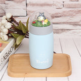 Cute Ghibli Totoro Micro Thermos Cup Creative Cartoon Termos Mug