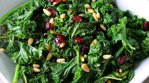 SOFT KALE SALAD | UNDER 10 min.