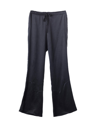 Wide Leg Flow Silk Pants