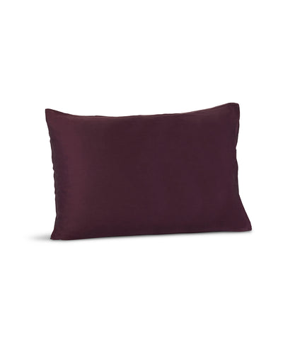 SILK & GLOW PLUM PILLOWCASE
