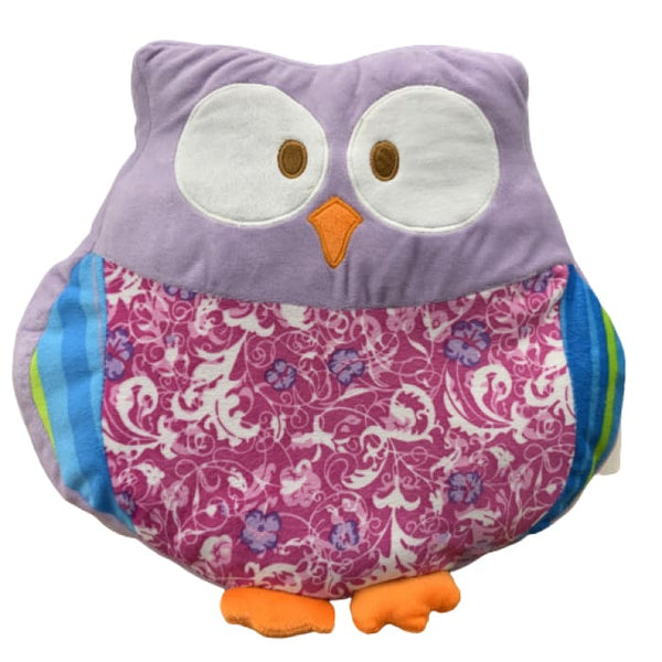 15 Owl Pillow - Purple