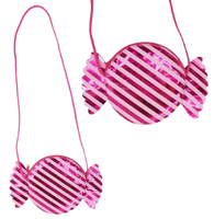 Land of Candy Round Shoulder Handbag by Pink Poppy®