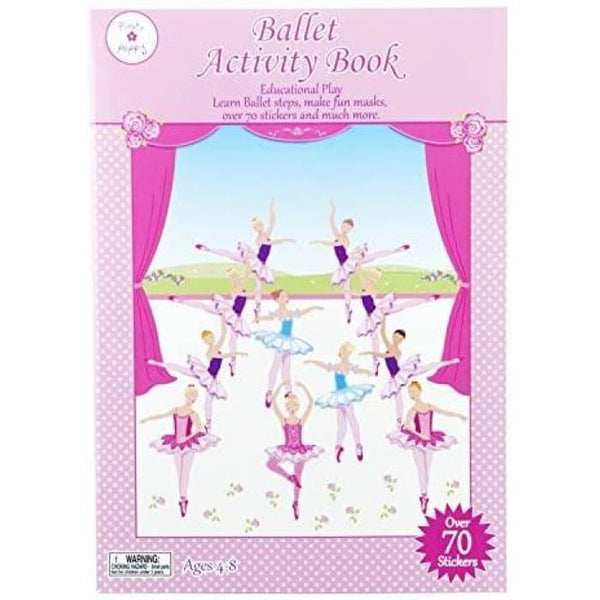 Ballet Activity Book by Pink Poppy®