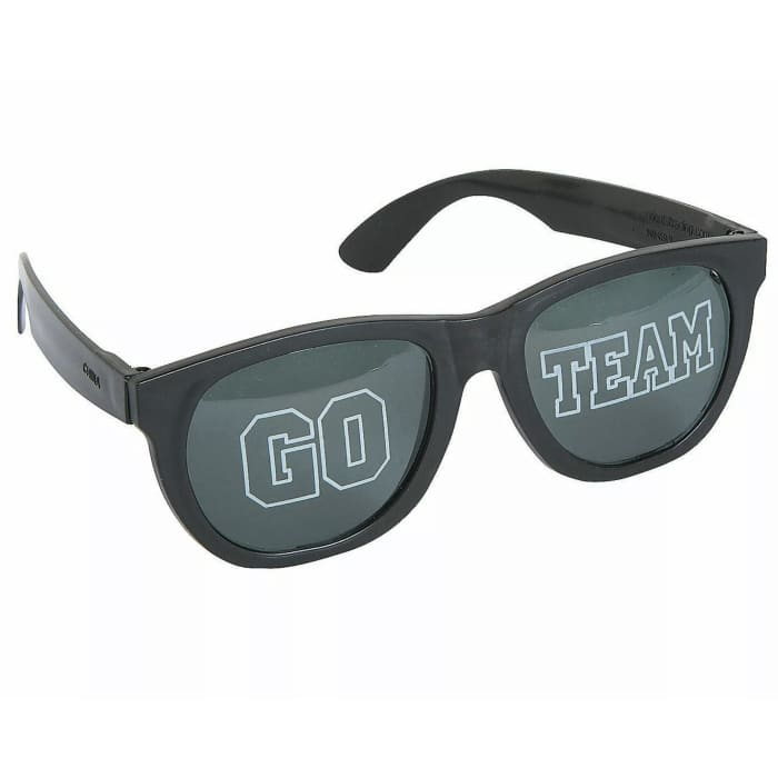 Black GO TEAM Sunglasses