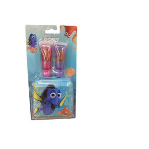 Disney Finding Dory Girls' 3-Piece Lip Gloss & Case Set