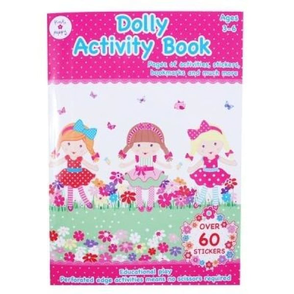 Dolly Activity Book by Pink Poppy®