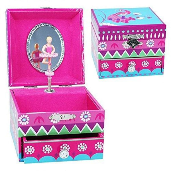 Fiesta Small Music Box by Pink Poppy®