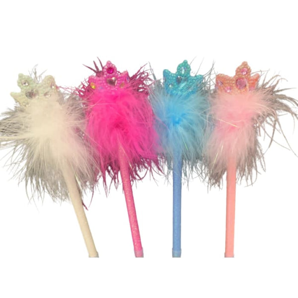 Fluffy Crown Pen by Pink Poppy®