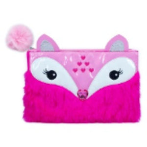 Furry Friends Pencil Case or Make Up Bag (Fox) by Pink