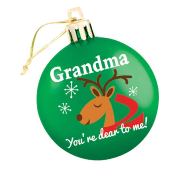 Grandma Green Ornament