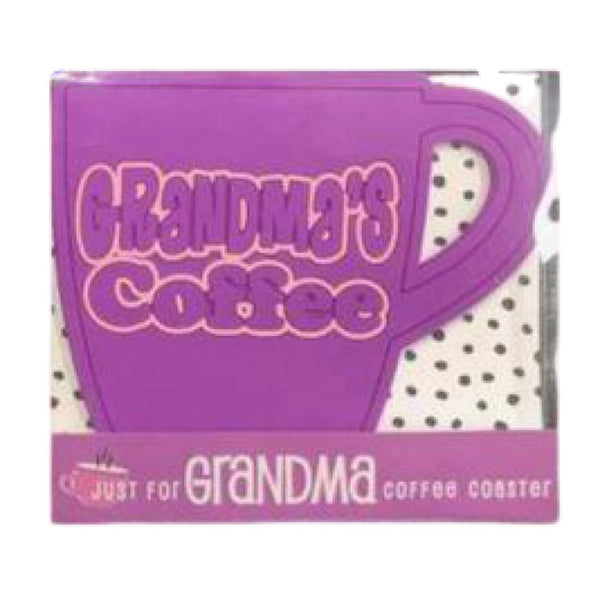 Grandma's Coffee Coaster
