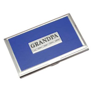 Grandpa Business Card Holder