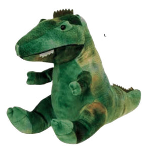 Green Stuffed Dinosaur