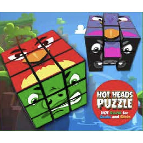 Hot Heads Puzzle Cube
