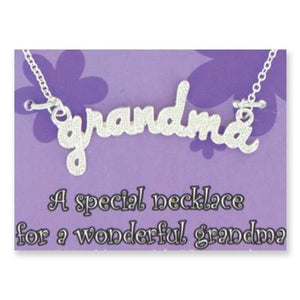 Just for Grandma Necklace