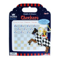 Knights and Dragons Checkers by Pink Poppy®