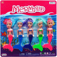 L05 Mermaid Doll Set