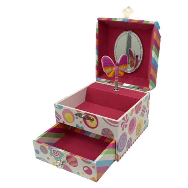 Land of Candy Small Music Box by Pink Poppy®